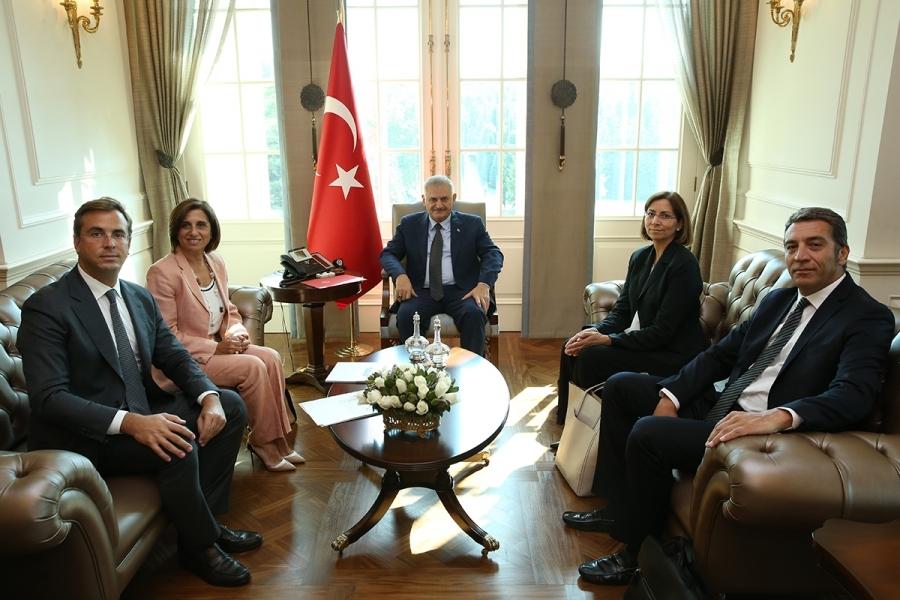 August 2016 Binali Yıldırım TÜSİAD
