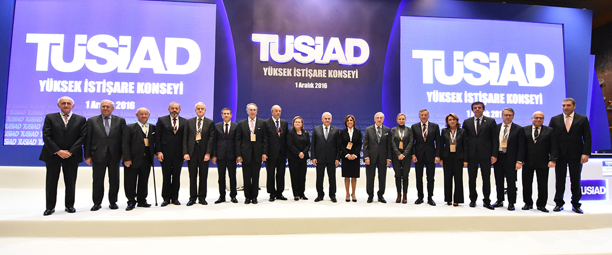 <p>TÜSİAD President Cansen Başaran-Symes delivered opening remarks at the High Advisory Council meeting, which convened on December 1, 2016 in Ankara.</p>