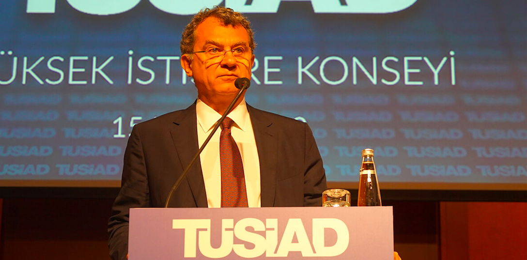 <p>The President of the Turkish Industry and Business Association (TÜSİAD) Simone Kaslowski delivered opening remarks at the High Advisory Council meeting, which convened on May 15 in Istanbul. The High Advisory Council is a biannual deliberative conference where the business world takes stock of domestic and global political and economic developments and offers suggestions to policy makers from a business perspective.</p>