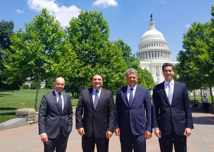 <p>TUSIAD President Simone Kaslowski led a delegation to Washington, D.C. on 16-17 July 2019. The delegation included TUSIAD Global Relations and EU Roundtable Leader and Member of the Board of Directors Bedii Can Yücaoğlu, TUSIAD U.S. Network Leader Murat Özden, and TUSIAD Washington Representative Barış Ornarlı.</p>