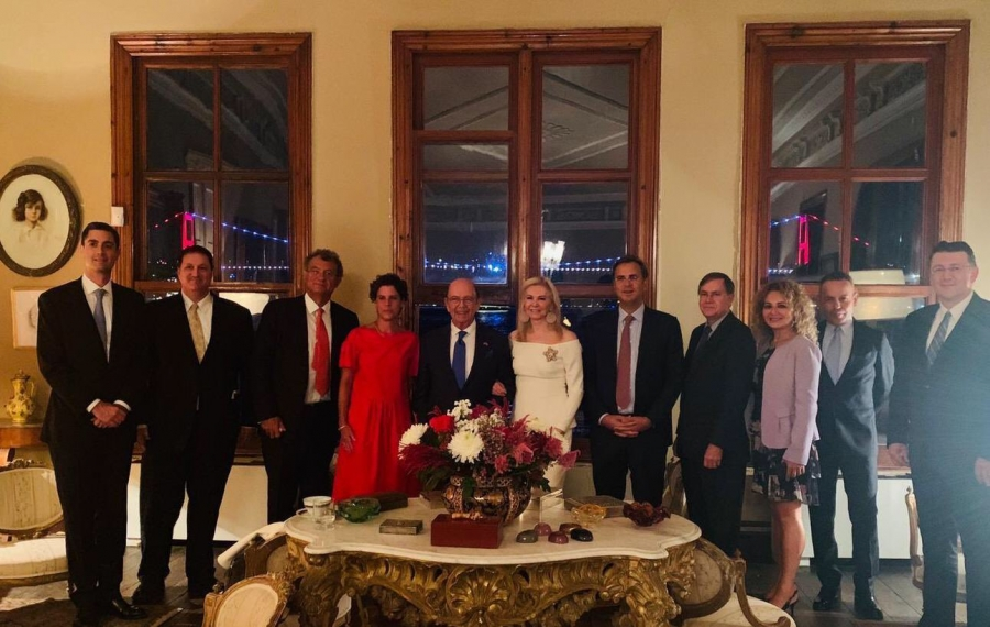 <p>On September 7, 2019, TUSIAD President Simone Kaslowski hosted a dinner for United States Secretary of Commerce Wilbur Ross.</p>